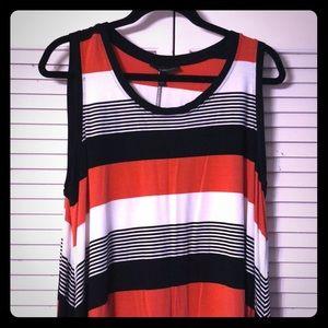 Vibrant sleeveless dress